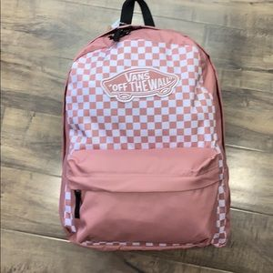 VANS CHECKERBOARD REALM BACKPACK